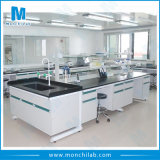 New Biological Steel and Wood Laboratory Island Bench