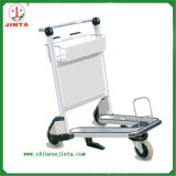 Beautiful Functional Stainless Steel Airport Luggage Trolley