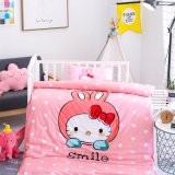 China Supplier Wholesale Cotton Baby Crib Bedding Set