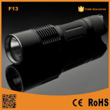 F13 High Power Portable LED Rechargeable Tactical Flashlight
