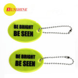 Oval Style Reflective Keychain En71 Certificated