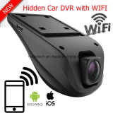 New Cheap 2CH Hidden WiFi Car Dash Black Box with 5.0mega Car DVR, Dual HD1080p Car Camera, Night Vision Digital Video Recorder