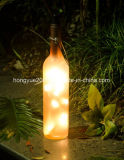 New Design Hot Sale Glass Material Wine Bottle 10PCS LED Christmas String Light
