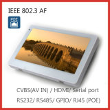 "7"" Poe IEEE802.3af Gpio Touch Panel PC with Android 6.0"