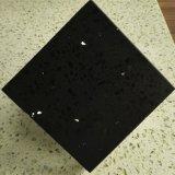 Cheap Stone Veneer Sparkle Black Quartz Engineered Stone