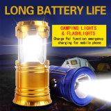 LED Hiking Mini Rechargeable Solar Camping Lantern