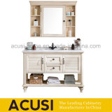 Ivory Color Modern Classical Style Solid Wood Bath Cabinet (ACS1-W63)
