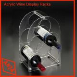 China Simple Cheap Acrylic Wine Display Stand for Retail Shop