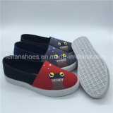 Hotsale Children Slip-on Leisure Shoes Injection Canvas Shoes (ZL1017-29)
