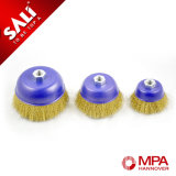 Steel Wire Crimped Cup Brushes with Good Quality