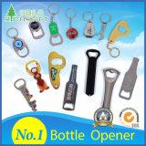 Promotional Gift Custom Professional Keyring Souvenir Logo PVC Magnetic Metal Bar Beer Bottle Opener Plastic Corkscrew Red Wine Opener with Zinc Alloy Key Chain