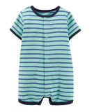 2018 Factory Kids Clothing Cheep Price Stripe Baby Playsuit