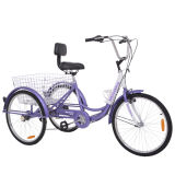 Aluminum Cargo Bicycle/ Delivery Tricycle Three Wheels Bike for Elder