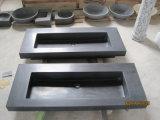 Black Basalt Sink, Stone Vanity Sink, Black Basalt Basin
