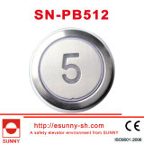 Color Optional Lift Push Button for Thyssenkrupp (SN-PB512)