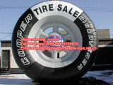 Airblowing Inflatable Tire Balloon for Outdoors Advertising