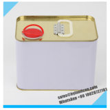 2liters Metallic Tin Can_Drum for Paint