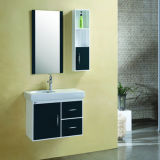 2017 Hot Sale PVC Bathroom Cabinet with Side Cabinet Sw-PVC851