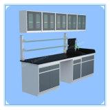 China Floor Model Laboratory Steel Wall Mounted Table