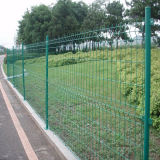 PVC Coated Garden Welded Wire Mesh Fence