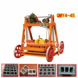 Qmy4-45 Lego Concrete Mobile Hollow Block Making Machine Price