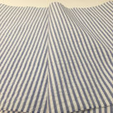 100% Cotton Yarn Dyed Seersucker Stripe Fabric for Shirts