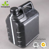 Black HDPE Oil Jerry Can Airtight with Screw Lid