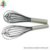 Stainless Steel Tube/PP/Soft Grip Handle Silicone/ Stainless Steel Wire Whisk for Egg