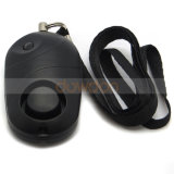 Factory Price Black Lady Personal Alarm Anti-Theft Alarm with Bright LED Light