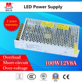 12V 100W Switching Power Supply 8.3A for LED Display 100W 12V 8.3A SMPS