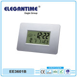 Fashionable Big Digital with Weather Station Wholesale Table Alarm Clock