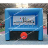 3*1.5*2.5m Inflatable Archery Shooting Game, Kids and Adult Outdoor Inflatable Archery Game, Free Bow and Arrow