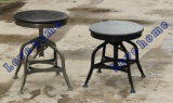 Modern Industrial Restaurant Vintage Toledo Wooden Counter Barstools