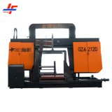 Heavy Duty 1m 1.6m 3m Fully Automatic hydraulic Carbon Steel H Beam Iron Metal Cutting CNC Horizontal Band Saw Sawing Machine with Dual Jaws Linear Guiding
