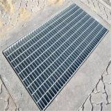 Pick Proof Galvanized Steel Bar Grating Floor Drain Manhole Rainwater Drainage, Customized Trench Cover