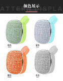 New Arrival Waterproof Wallet Speaker Cloth Grill Fabric Bluetooth Speaker