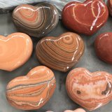 Home Garden Office Decoration Stone Gift Heart Carving