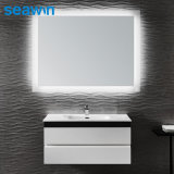 Aluminium Copper Hotel Home LED Backlit Bathroom Vanity Mirror LED Makeup Cosmetic Mirror