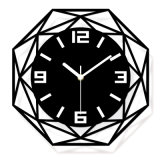 Custom Design Creative Fashion Gift Acrylic Clock Wall Clock