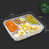 4 Compartment High Quality Cheap PP Plastic Lunch Box