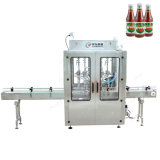 Full Automatic Double Colors Chocolate Sauce Soy Sauce Tahini Jam Dessert Pudding Jelly Guiling Paste Jelly Ice Cream Cookies Tomato Paste Filling Line