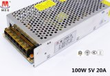 Single Output 20A 5V LED switching Power Supply AC to DC Transformer 100W