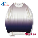 Stock Men and Lady Cheap Dry Fit Polyester Crew Neck MOQ 1PC Tie Dye Sweat Shirts