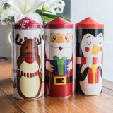 Christmas Tin Box Small Gift Tin Box Candy Cookie Cans