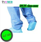 Disposable Nonskid Non Woven PP+PE/Spunpond/Plastic/Cheap/Machine made Shoe Cover PE Shoe Cover Overshoes CPE Waterproof Shoe Cover