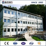 Prefabricated Flat Pack Sandwich Panel Container House for Worker House