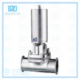 """Ss Sanitary High Pressure Type 4 """" Cclamped Diaphragm Valve by Straighte"""