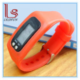 Silica Gel Electronic Pedometer Watch LED Smart Electronic Bracelet Watch