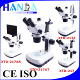 Binocular and Trinocular Zoom Stereo Microscope for Research