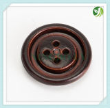 Fancy Imitation Leather Button for Coat
